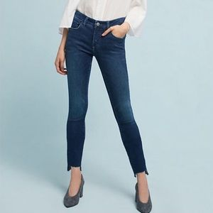 Anthro | Pilcro |  Mid Rise Skinny Jeans